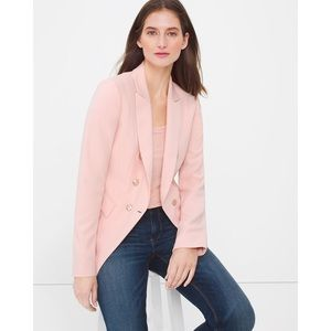 White House Black Market Blush Pink Trophy Blazer